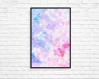 SALE - 50% Absract art print abstract poster