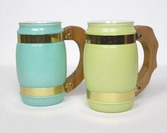 Vintage Siesta Ware Mugs (2)