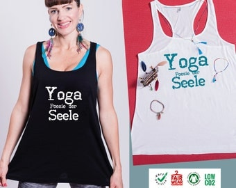 Yoga shirt YOGA poetry of the soul