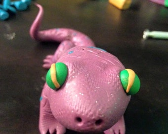 Made to order Polymer Clay lizard
