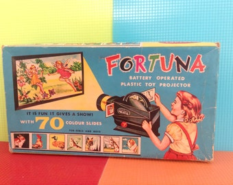 Toy projector from the 60s