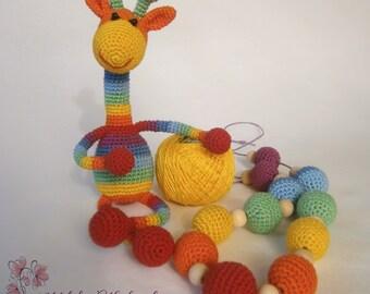 "Slingobusy ""Rainbow Giraffe"""
