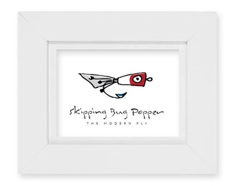 The Skipping Bug Popper / Cast 3