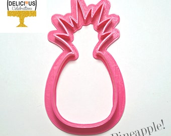 Pineapple Cookie Cutter, Made in Canada