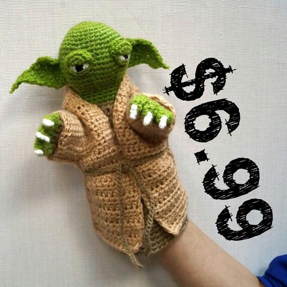 Jedi Master Yoda Amigurumi Pattern : Yoda Amigurumi Pattern PDF Yoda Jedi Crochet Pattern PDF