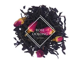 Rose Oolong, Chinese Tea, Flavoured Tea, Scented Tea, Loose Leaf Tea