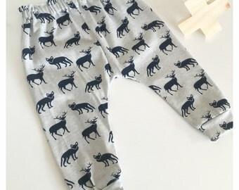 Boys Pants | Fox & Stag Pattern