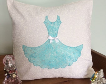 Dress Cushion kit, Make your own dress cushion cover, DIY cushion kit, Dress cushion kit, cushion kit, sewing kit