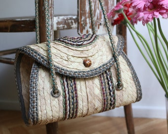 VIntage hand made shoulder bag