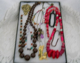 Vintage Jewelry Lot Pins Necklace Bracelet And More #634