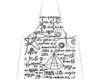 Math Geek Formulas Apron