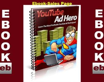 YouTube Ad Hero-EBOOK: Download-PDF-Digital-Website-Images