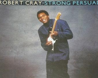 Robert Cray vinyl record Strong Persuader vintage vinyl record album