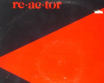 Neil Young record album, Neil Young Reactor vintage vinyl record