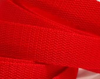 3 m belt bag belt 30 mm in red