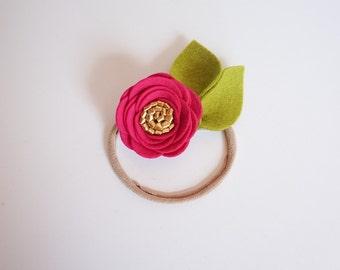 Petite Fucshia Rose