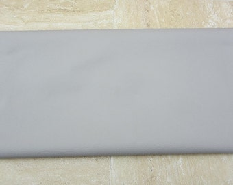Light Grey PU Leather Fabric 50cm x 65cm