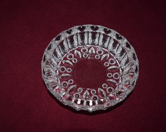 Vintage Kig Indonesian glass ashtray