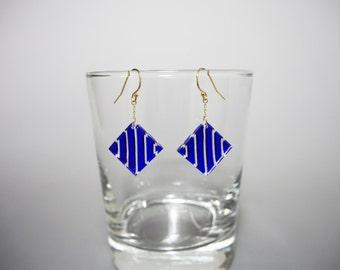 tokoba earrings B-stripe