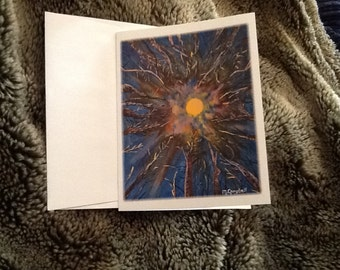 Midnight Moon card