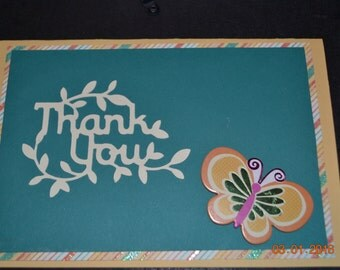 One of a kind Thank you card