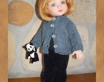 Pants for Patsy/Ann Estelle BLACK CORDS