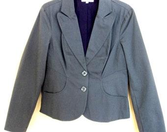 Grey Charcoal Jacket (Vintage 80s)