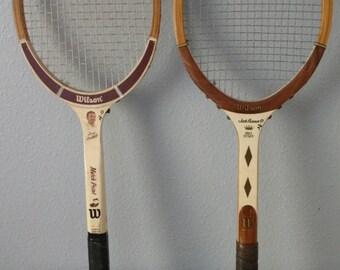 Vintage Wilson Tennis Rackets Tony Trabert Signature