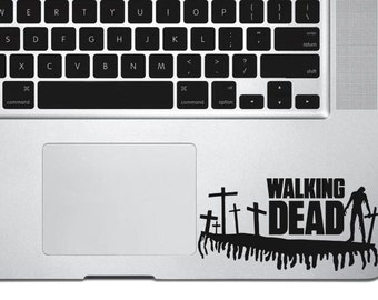 The Walking Dead decal sticker, laptop decal, vinyl decals, macbook decal, wall sticker, car decal, macbook sticker, ipad decal