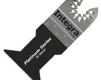 "qb35; 5 piece 1-3/4"" (45mm)  bi-metal oscillating saw blade"