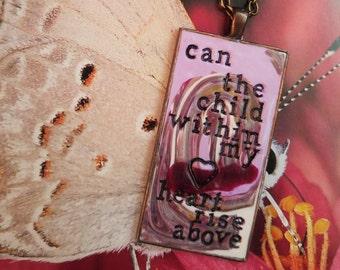 Fleetwood Mac Landslide Pendant Necklace