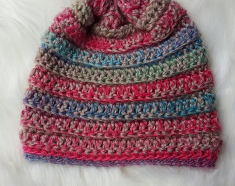 Woman's crocheted hat