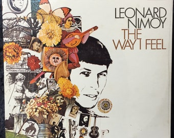"Leonard Nimoy ""The Way I Feel"" 1968 US Rare FACTORY SEALED"