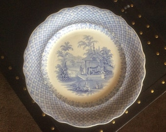 """Robinson, Wood & Brownfield """"Zoological"""" series dinner plate"""