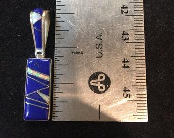 Lapis Lasuli 1.5 inch pendant