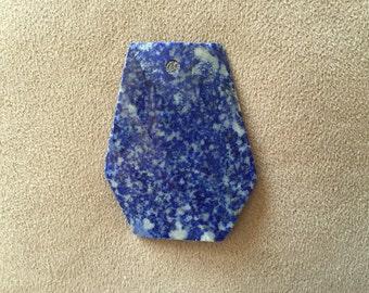Lapis Lazuli Hexexagonal Pendant