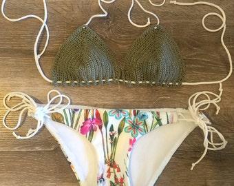 Bronte Crochet Bra Bikini