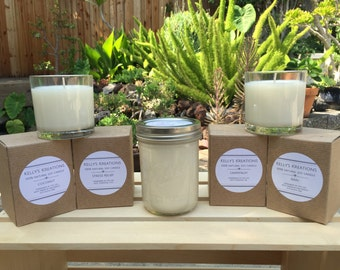 100% Natural Soy Candles