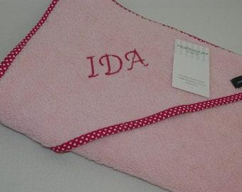 Towels hooded towel baby towel with hood hooded bath towel name desired name pink