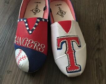 Texas Rangers Canvas shoes