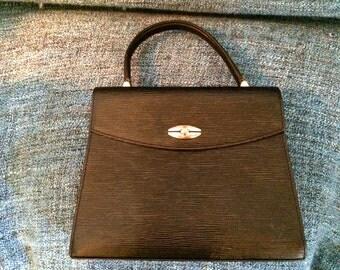 Epi leather handbag black Louis Vuitton