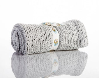 grey crochet baby blanket |  Baby Blanket | Newborn blanket | Baby Blankets | stroller blanket | Baby shower gift | carrycot blanket