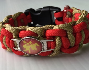 Game of Thrones Lannister paracord bracelet