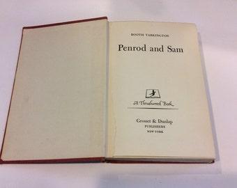 Rare Book, Antique Book - Penrod and Sam by Booth Tarkington - Tarkington - 1916 Literature - Vintage Book - Classic Literature