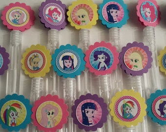 Equestria girl etsy for Mini bubble wands