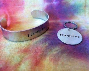 Flawless Gift Set - Flawless Bracelet - Feminist Gift Set - Feminist Bracelet - Nasty Woman Gift