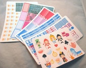 We're All Mad Here Full Week Planner Sticker Kit