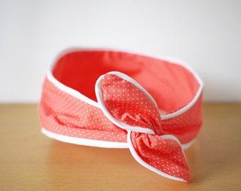 Headband - Liam coral