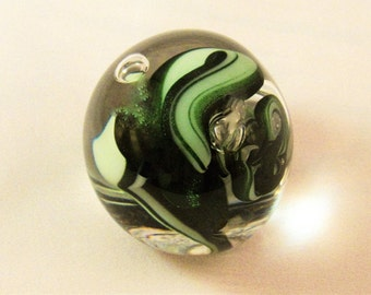 Green Dicro Paperweight