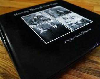 Custom Family History Book